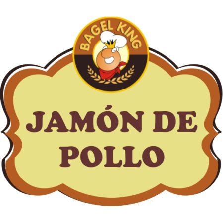sandwich jamon de pollo