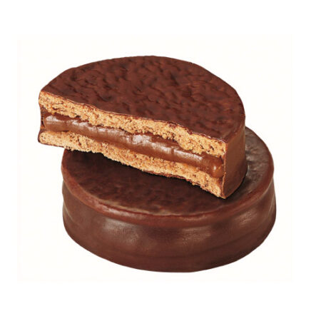 Alfajor de chocolate y arequipe