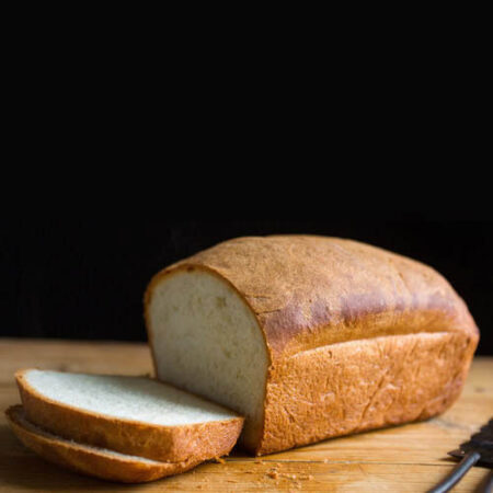 Pan molde tradicional. Panes frescos a domicilio