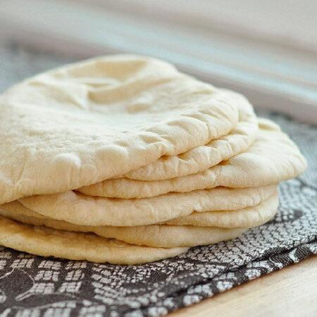 Pan pita tradicional, Panes a domicilio