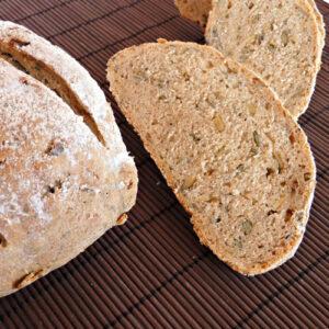 Pan Seis Cereales y Miel Ovalado